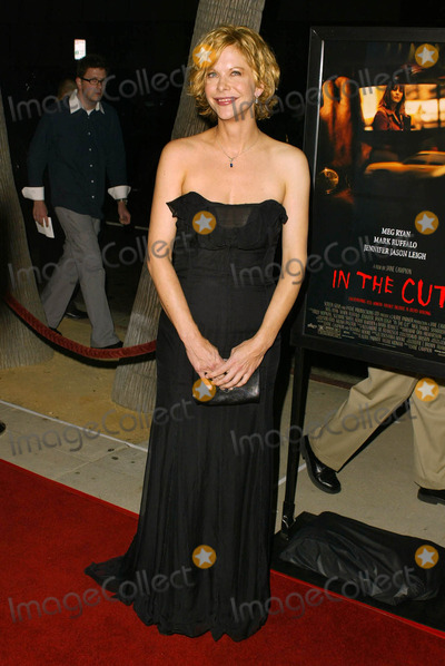"Meg Ryan Photo - Meg Ryan at the premiere of ""In The Cut"" at the Academy of Motion Picture Arts and Sciences, Beverly Hills, CA 10-16-03"