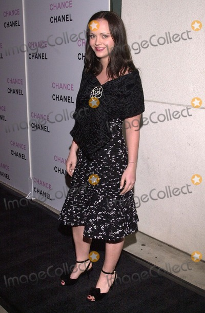 "Christina Ricci Photo - Christina Ricci at the launch party for Chanel's new fragrance ""Chance"" Benefiting RAINN and The Lower East Side Girls Club of New York, Chanel Boutique, Beverly Hills, CA 10-17-02"