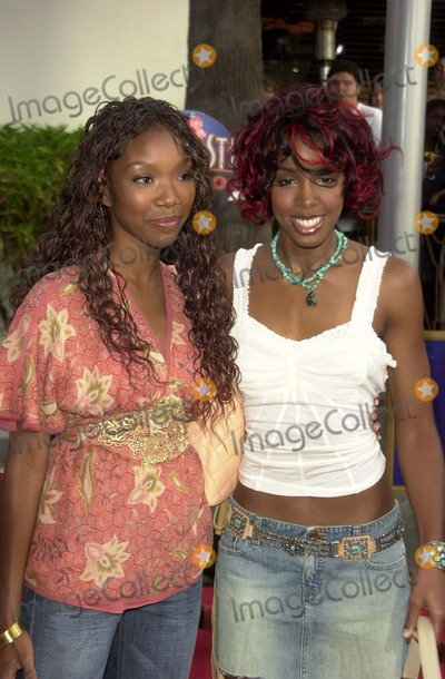 "Brandy Norwood, Kelly Rowland, Brandy, Kelly Rowlands Photo - Brandy Norwood and Kelly Rowland at the world premiere of Universal's ""2 Fast 2 Furious"" at Universal Studios, Universal City, CA 06-03-03"