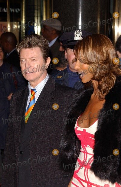 David Bowie, Iman Photo - David Bowie and Iman