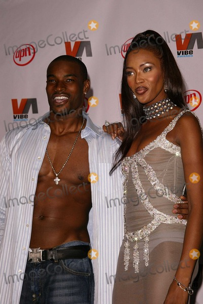 Tyson Beckford, Naomi Campbell Photo - Tyson Beckford and Naomi Campbell at the 2003 Vibe Awards, Santa Monica Civic Auditorium, Santa Monica, CA 11-20-03