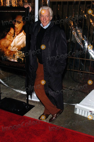 Donald Sutherland Photo - Donald Sutherland