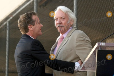 Donald Sutherland, Kiefer Sutherland Photo - Kiefer Sutherland and Donald Sutherland 