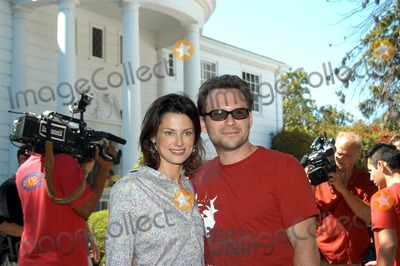 "Ryan Haddon, Christian Slater, Bel-Air, Prince Photo - Ryan Haddon and Christian Slater at the ""W"" Guess Hollywood Yard Sale held at the ""Fresh Prince of Bel Air"" estate, Brentwood, CA 09-20-03"