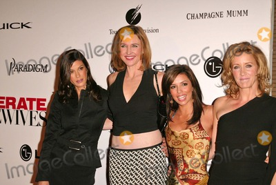 "Teri Hatcher, Brenda Strong, Eva Longoria, Felicity Huffman Photo - Teri Hatcher, Brenda Strong, Eva Longoria and Felicity Huffman at the ""Desparate Housewives""  New ABC Series Viewing Party, Barney's, Beverly Hills, CA 10-03-04"