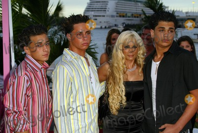 Victoria Gotti Photo - Victoria Gotti and sons at the 2004 MTV Video Awards Arrivals, American Airlines Arena, Miami, FL 08-29-04