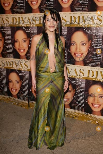 Photo - Joanna at the 13th Annual Divas Simply Singing, Wilshire Ebell, Los Angeles, CA 10-25-03