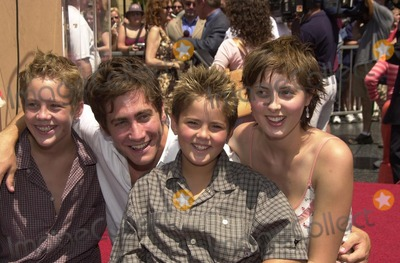 Jack Robbins, Jake Gyllenhaal Photo - Jack Robbins, Jake Gyllenhaal, Miles Ronbbins and Eva at Sarandon's Star on the Hollywood Walk of Fame ceremony, Hollywood, CA 08-05-02