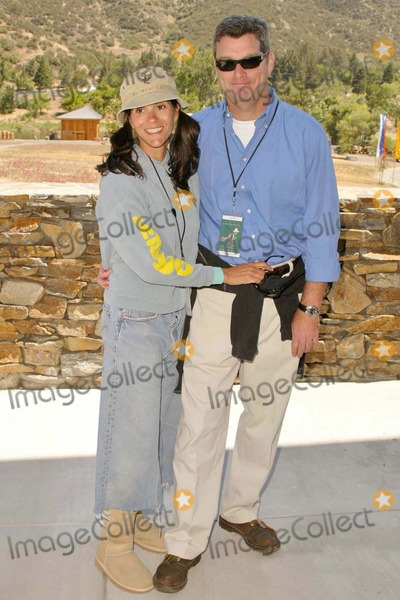 Jami Gertz Photo - Jami Gertz and husband Tony Ressler at the Dedication of The Painted Turtle Camp at Lake Hughes, CA. 05-22-04