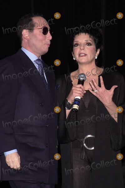 Liza Minnelli, David Gest Photo - David Guest and Liza Minnelli at the VH1 press conference to announce the weekly musical reality series starring Liza Minnell