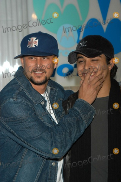 Cris Judd, Wilmer Valderrama Photo - Cris Judd and Wilmer Valderrama at the Motorola 4th Annual Holiday Party, The Lot, Hollywood, CA 12-05-02