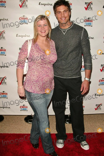 "Alison Sweeney, Eric Winter Photo - Alison Sweeney and Eric Winter At the ""Young Hollywood Votes Party"", The Esquire House, Beverly Hills, CA, 10-13-04"