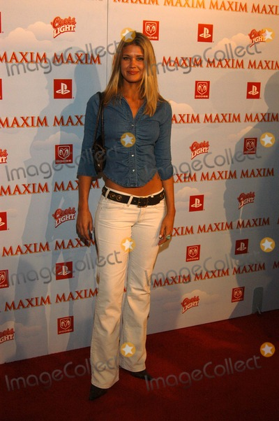 Sarah Lancaster Photo - Sarah Lancaster at Maxim Magazine's Maximville Super Bowl Party, the Old Wonderbread Factory, San Diego, CA 01-25-03