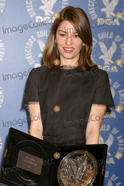Sofia Coppola Photo - Sofia Coppola at The 56th Annual Director's Guild of America Awards Press Room, Century Plaza Hotel, Century City, CA 02-07-04
