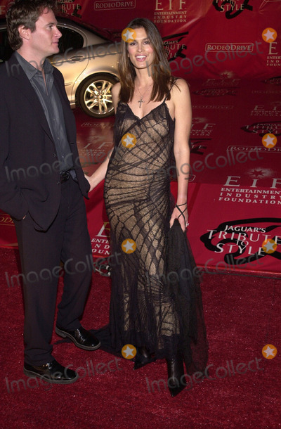 Cindy Crawford, Jaguares Photo -  CINDY CRAWFORD at the Jaguar Tribute to Style Gala, Barker Hanger, Santa Monica, 03-18-01
