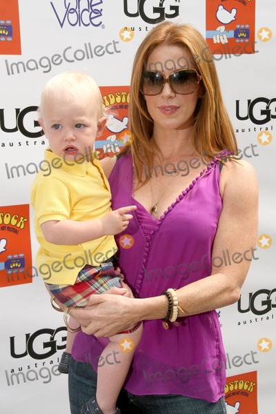 Poppy Montgomery Photo - Poppy Montgomery and son Jackson