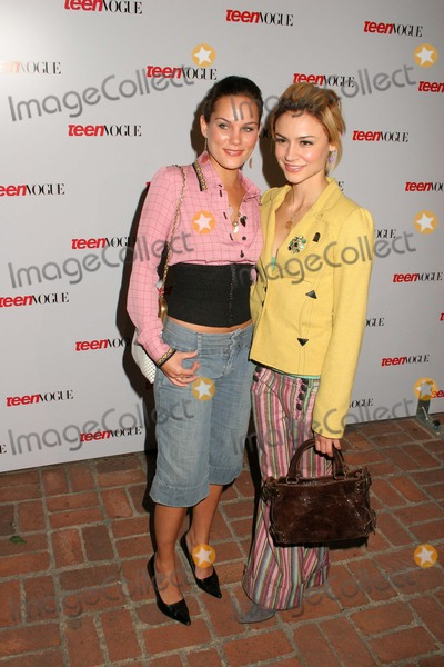 "Olivia Allen, Samaire Armstrong Photo - Olivia Allen and Samaire Armstrong at the Teen Vogue ""Young Hollywood"" Party, Chateau Marmont, West Hollywood, CA 09-23-04"