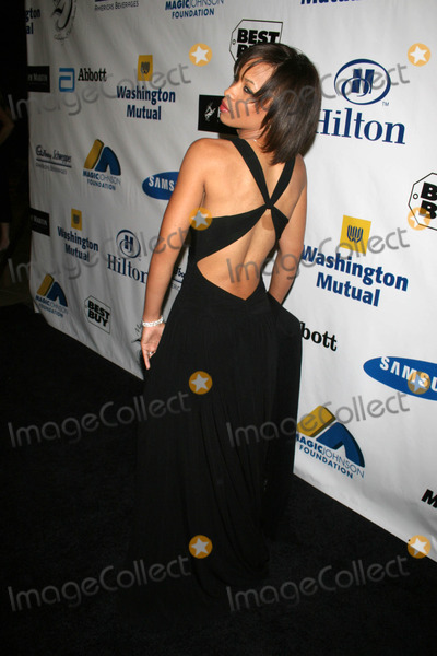 "Karrine Steffans, Magic Johnson, ""Magic"" Johnson Photo - Karrine Steffans