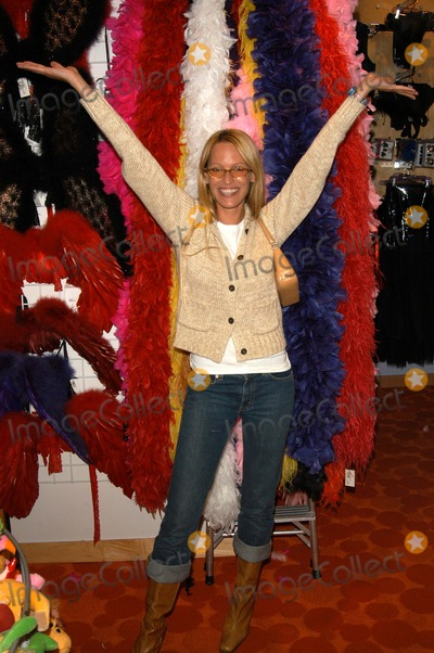"Sam Phillips Photo - Sam Phillips at Danni's In-Store appearance to promote the release of her new novelty ""breasts"" at Hustler Hollywood, West Hollywood, CA 03-20-03"