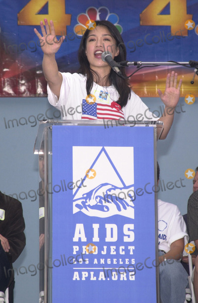 Ming-Na, Nas, MING NA Photo -  Ming Na at the 17th Annual AIDS WALK L.A. at the Pacific Design Center, West Hollywood, 10-21-01