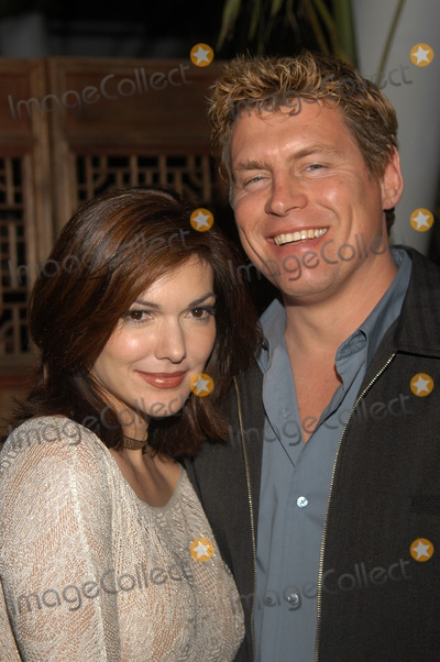 Laura Harring, Chris Breed Photo - Laura Harring and Chris Breed at the 2002 STEP UP Women's Network Holiday Party, White Lotus, Hollywood, CA 12-06-02