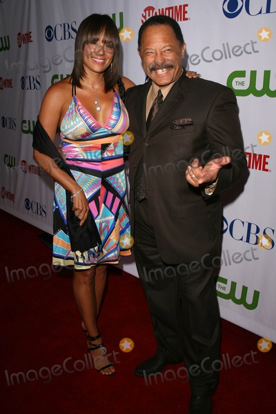Joe Brown, Judge Joe Brown Photo - Judge Joe Brown and wife Deborah at the CBS, CW and Showtime Press Tour Stars Party, Boulevard3, Hollywood, CA. 07-18-08