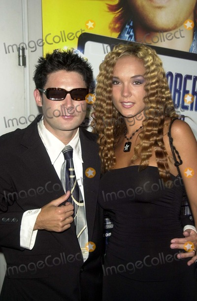 "Corey Feldman Photo - Corey Feldman and wife Susie at the world premiere of Paramount's ""Dickie Roberts: Former Child Star"" at the Cinerama Dome, Hollywood, CA 09-03-03"