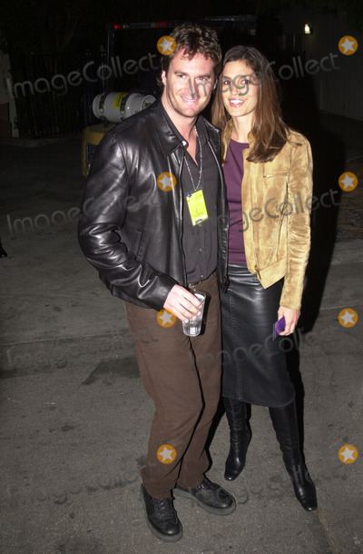 Cindy Crawford, Rande Gerber Photo -  Cindy Crawford and Rande Gerber at the first annual MTVicon awards, held at Sony Studios, Culver City, 03-09-01