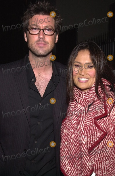 Tia Carrere Photo - Tia Carrere and date at the concert series for Blender Magazine, IVAR, Hollywood, CA 10-30-02