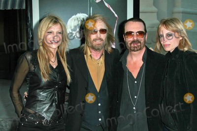 Tom Petty, Tom Petty and the Heartbreakers, The Heartbreakers Photo - Tom Petty and wife Dana with David A. Stewart and wife Anoushka