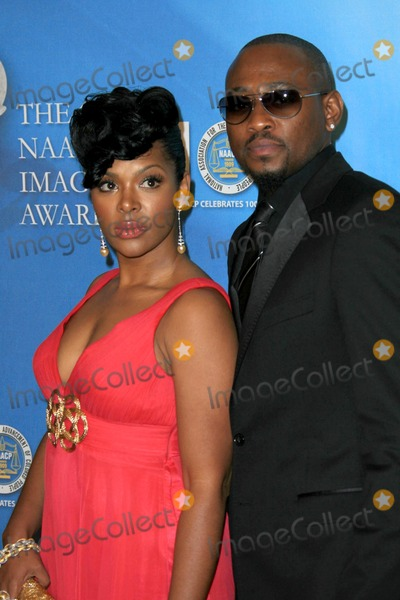 Omar Epps Photo - Omar Epps and wife Keisha