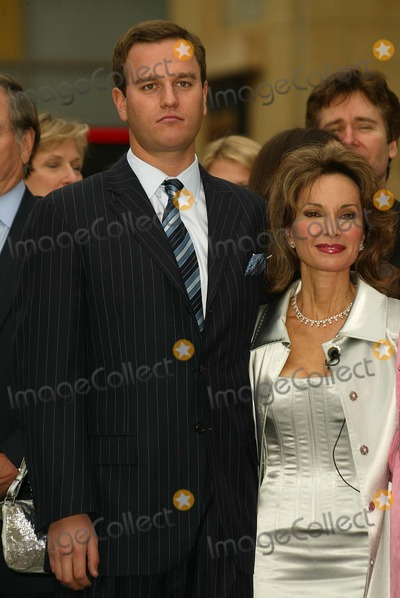 Susan Lucci, Andreas Huber Photo - Susan Lucci and son Andreas Huber at Lucci's Star on the Hollywood Walk of Fame Induction Ceremony, Hollywood, CA 01-28-05