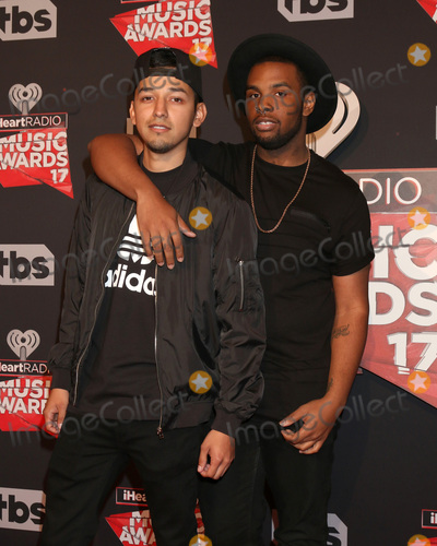 Photo - LOS ANGELES - MAR 5:  David Delgado, Diego Montana at the 2017 iHeart Music Awards at Forum on March 5, 2017 in Los Angeles, CA