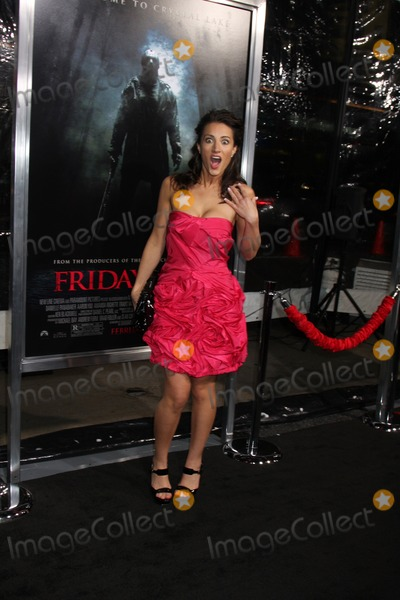 America Olivo Photo - America Olivo arriving at the Friday the 13th 2009 Premiere at Mann's Village Theater in Los Angeles, CA on 