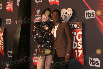 Photo - LOS ANGELES - MAR 5:  Noah Cyrus, Labrinth at the 2017 iHeart Music Awards at Forum on March 5, 2017 in Los Angeles, CA