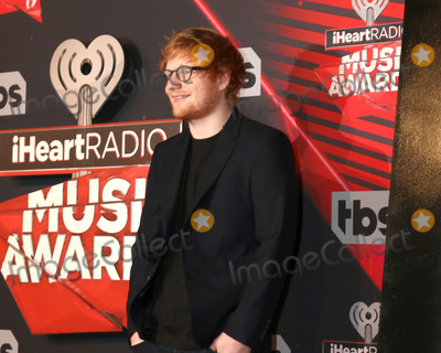 Ed Sheeran Photo - LOS ANGELES - MAR 5:  Ed Sheeran at the 2017 iHeart Music Awards at Forum on March 5, 2017 in Los Angeles, CA