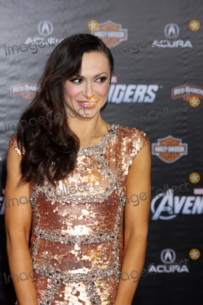 "Karina Smirnoff Photo - LOS ANGELES - APR 11:  Karina Smirnoff arrives at ""The Avengers"" Premiere at El Capitan Theater on April 11, 2012 in Los Angeles, CA"