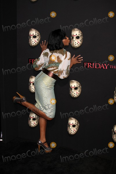 Tichina Arnold Photo - Tichina Arnold  arriving at the Friday the 13th 2009 Premiere at Mann's Village Theater in Los Angeles, CA on 