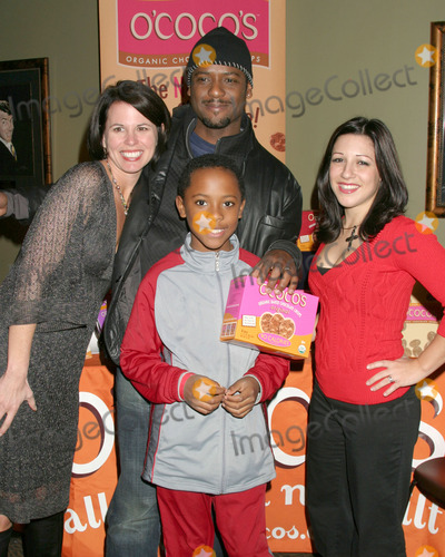 Blair Underwood, FRIARS CLUB Photo - Blair Underwood & Son Paris