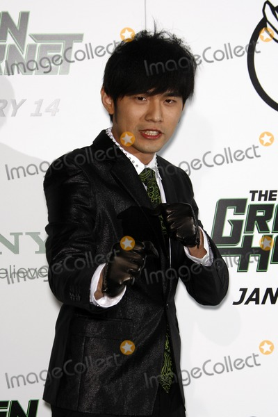 "Jay Chou Photo - LOS ANGELES - JAN 10:  Jay Chou arrives at the ""Green Hornet"" Premiere at Grauman's Chinese Theater on January 10, 2011 in Los Angeles, CA"