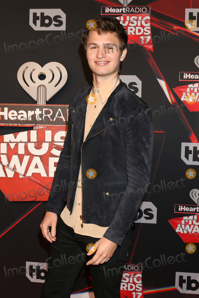 Ansel Elgort Photo - LOS ANGELES - MAR 5:  Ansel Elgort at the 2017 iHeart Music Awards at Forum on March 5, 2017 in Los Angeles, CA