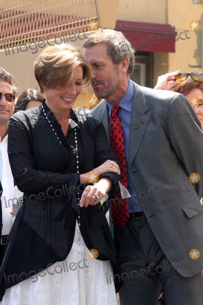 Emma Thompson, Hugh Laurie Photo - LOS ANGELES - AUGUST 5:  Emma Thompson & Hugh Laurie at the Hollywood Walk of Fame Ceremony for Emma Thompson at Hollywood Walk of Fame on August 5, 2010 in Los Angeles, CA