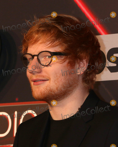 Photo - LOS ANGELES - MAR 5:  Ed Sheeran at the 2017 iHeart Music Awards at Forum on March 5, 2017 in Los Angeles, CA