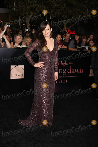 "Eizabeth Reaser Photo - LOS ANGELES - NOV 14:  Eizabeth Reaser arrives at the ""Twilight: Breaking Dawn Part 1"" World Premiere at Nokia Theater at LA LIve on November 14, 2011 in Los Angeles, CA"