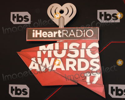 Photo - LOS ANGELES - MAR 5:  iHeart Music Awards 2017 emblem at the 2017 iHeart Music Awards at Forum on March 5, 2017 in Los Angeles, CA
