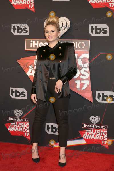 Photo - LOS ANGELES - MAR 5:  Alli Simpson at the 2017 iHeart Music Awards at Forum on March 5, 2017 in Los Angeles, CA