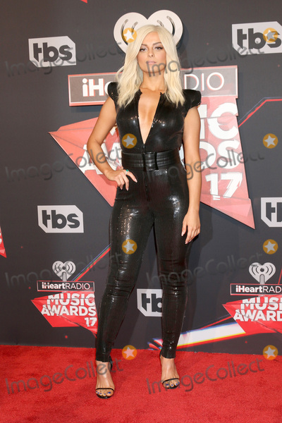 Photo - LOS ANGELES - MAR 5:  Bebe Rexha at the 2017 iHeart Music Awards at Forum on March 5, 2017 in Los Angeles, CA