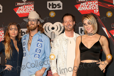 Tyler Hubbard, Brian Kelley Photo - LOS ANGELES - MAR 5:  Brittney Marie Cole, Brian Kelley, Tyler Hubbard, Hayley Stommel at the 2017 iHeart Music Awards at Forum on March 5, 2017 in Los Angeles, CA