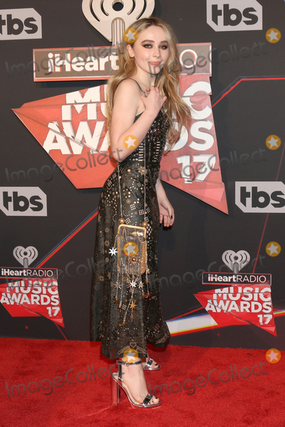 Photo - LOS ANGELES - MAR 5:  Sabrina Carpenter at the 2017 iHeart Music Awards at Forum on March 5, 2017 in Los Angeles, CA