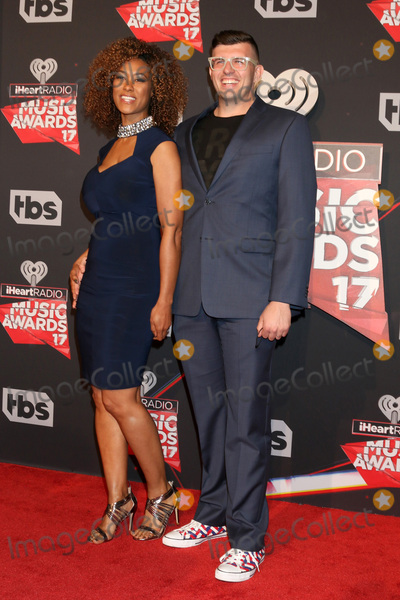 Photo - LOS ANGELES - MAR 5:  Abbi Crutchfield, husband at the 2017 iHeart Music Awards at Forum on March 5, 2017 in Los Angeles, CA